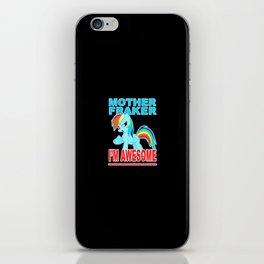 Cute Pony iPhone Skin
