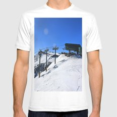 The Wall Mens Fitted Tee White MEDIUM