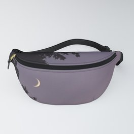 Smile Moon Fanny Pack