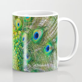 Beautiful Peacock (Color) Coffee Mug