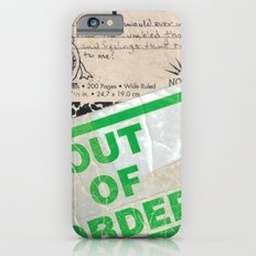 Out of Order Slim Case iPhone 6s