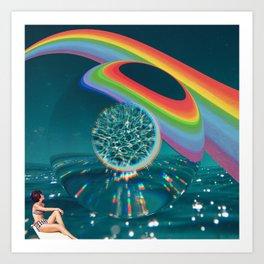 The Technicolor Unknown Art Print