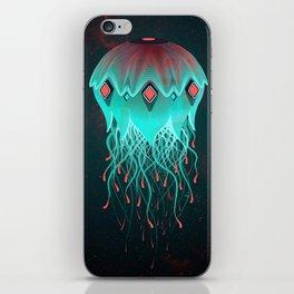"""Spacecraft """"Jellyfish"""" iPhone Skin"""