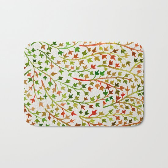 Autumn Ivy Bath Mat