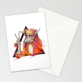 Peace of the Firey Stationery Cards