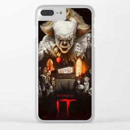 IT two Clear iPhone Case