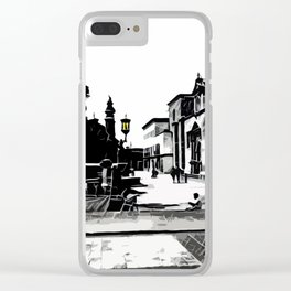 Plaza Clear iPhone Case