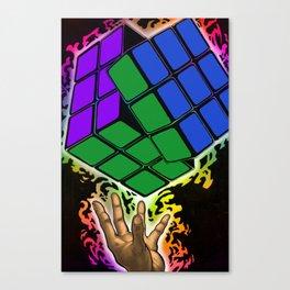 Rubix master Canvas Print