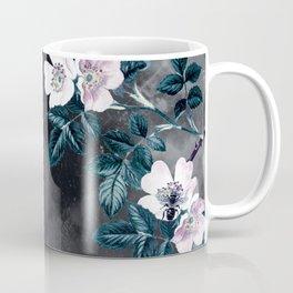Night Garden Bees Wild Blackberry Coffee Mug