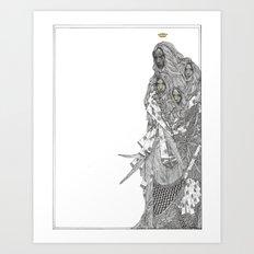 ILLUSTRATION NO. 013 Art Print