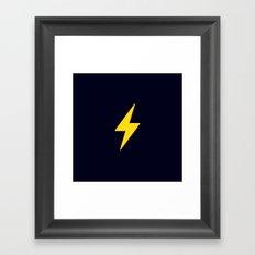 Fast Flash Framed Art Print