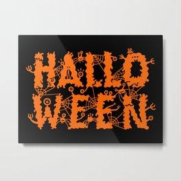 Halloween! Metal Print
