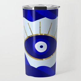 Lava All Seeing Evil Eye Travel Mug