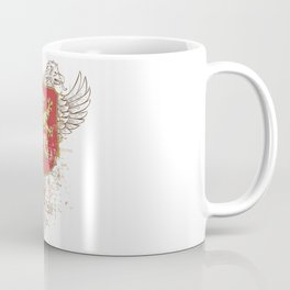 Coat of Arms Shield - Griffin Seal - Crown Lion and the Mark Coffee Mug