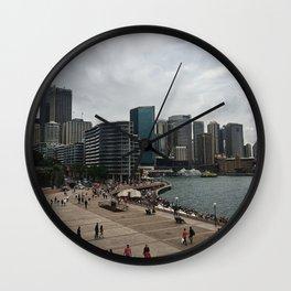 Circular Quay And City Wall Clock