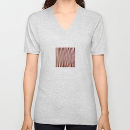 Flowers and lines S12 Unisex V-Neck