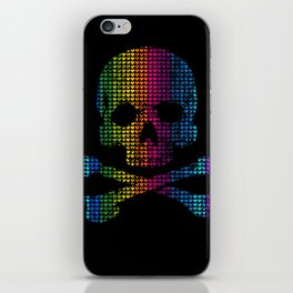Deadly in Love with Colors iPhone Skin