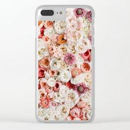 Festive Affair Clear iPhone Case