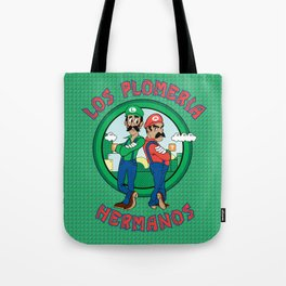 The Brother's Plumbing Tote Bag