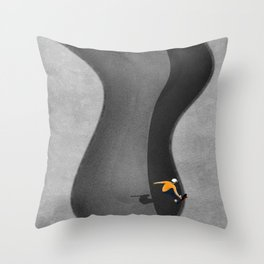 Skatepark  Throw Pillow