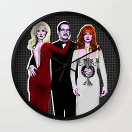 Death Becomes Her - Sempre Viva Live Forever Wall Clock
