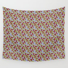 Game Night - Connect Four Wall Tapestry