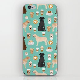 Labrador retriever gifts for lab owners golden retriever chocolate lab black lab dog breeds iPhone Skin