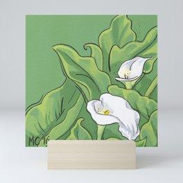 Calla Lily Valley Mini Art Print