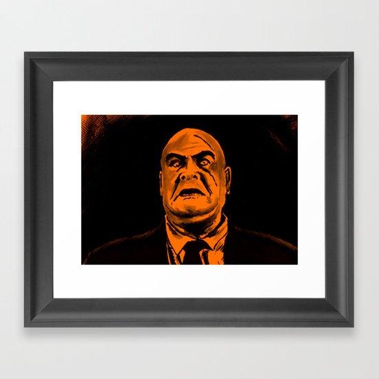 I'm a Big Boy Now, Johnny Framed Art Print