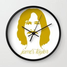 James Taylor Wall Clock