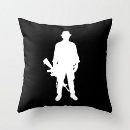 white army Throw Pillow
