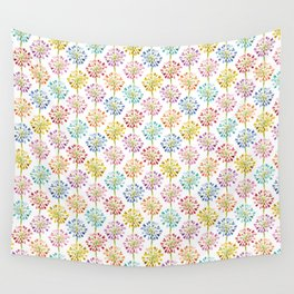 Heart Flower - colorful Wall Tapestry