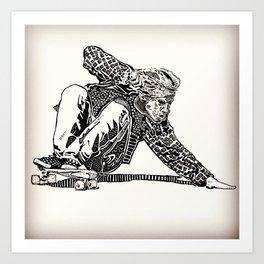 Jay Adams Art Print