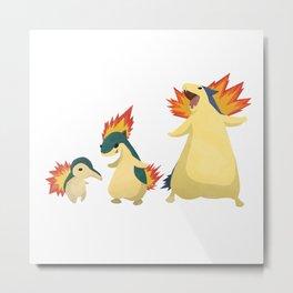 Fiery Family #2 Metal Print