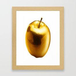 golden apple Framed Art Print