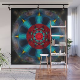 Crystal Ball Vision Abstract Wall Mural