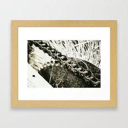 Lith Chain Framed Art Print