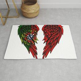 Portugese wings art Rug