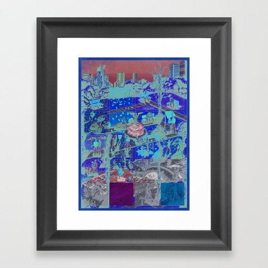The Park Framed Art Print