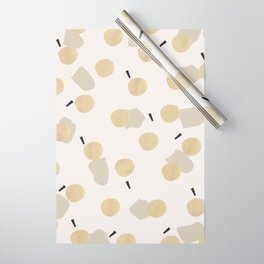 Nova Gold Wrapping Paper