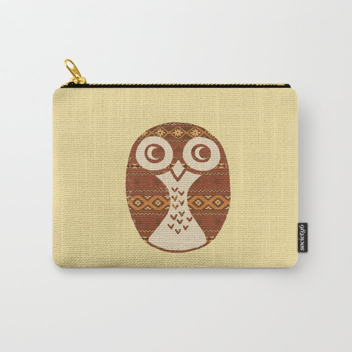 Navajo Owl  Carry-All Pouch