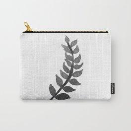 Minimalist botanical fern Carry-All Pouch