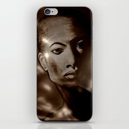 DEPARTURE TO METROPOLIS iPhone Skin