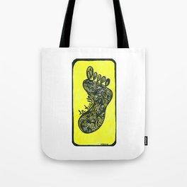 La huella (The footprint) Tote Bag