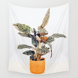 Botany || #illustration #painting #nature Wall Tapestry