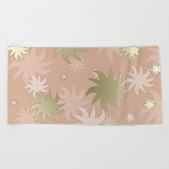 CHRISTMAS STARS 05 Beach Towel