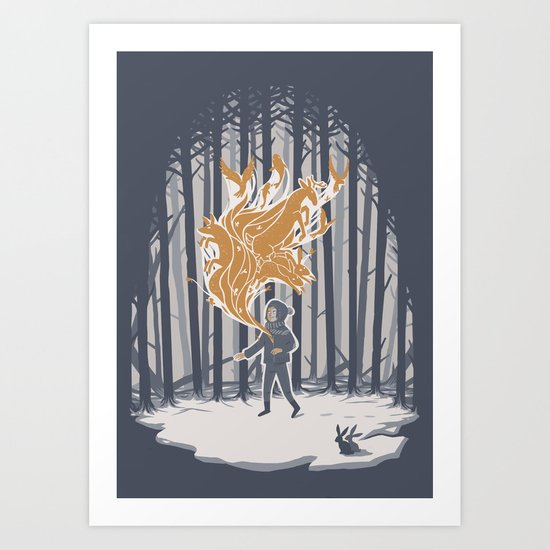 Invincible Summer Art Print