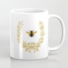 French Bee acorn wreath Coffee Mug