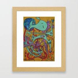 Kundalini Rising Framed Art Print