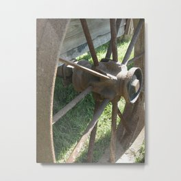 Road Side Metal Print